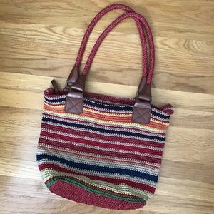 The SAK multi colored purse EUC